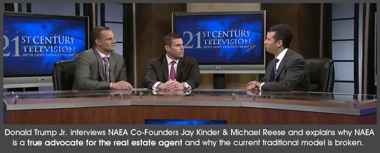 Donald Trump Jr. Interviews NAEA Co-Founders