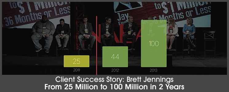 Success Story: From 25 to 100 Million in 2 Years