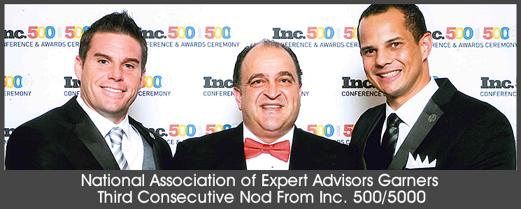NAEA Receives Third Consecutive Inc. 500/5000 Recognition