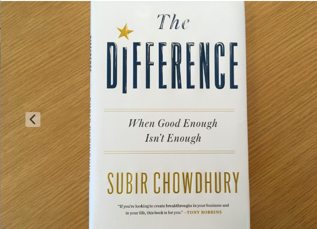 Book Review: The Difference by Subir Chowdhury